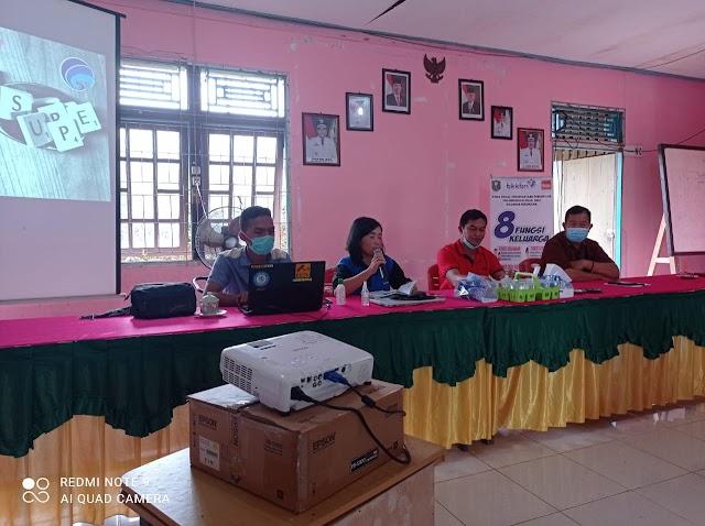 Sosialisasi pembentukan Kelompok Informasi Masyarakat di Desa Subah
