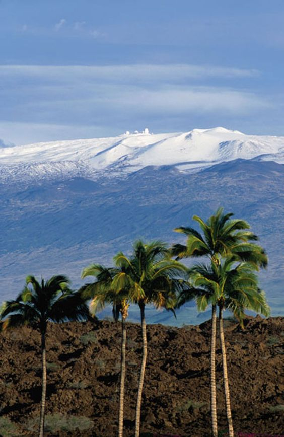 Mauna Kea, Hawaii, USA