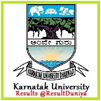 Karnatak University Results 2016-17