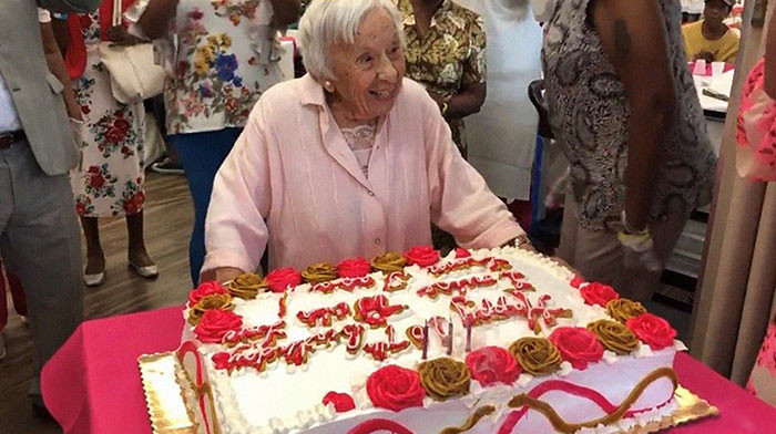 "Photo: ""I Never Got Married"" Woman Who Turns 107 Shares Secret To Her Long Life - Read Here"