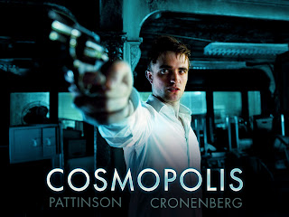 Robert Pattinson with Gun Cosmopolis Movie HD Wallpaper
