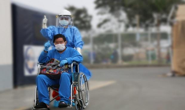 Coronavirus: extuban a paciente en servicio de Emergencia de Hospital de Villa El Salvador