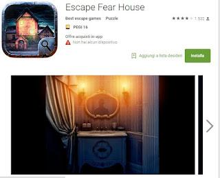 Soluzioni Escape Fear House di tutti i livelli