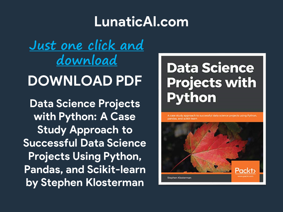 data science projects with python pdf github