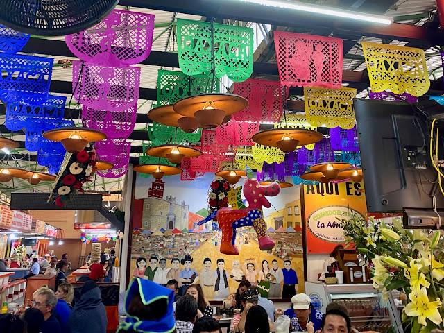 Food market, Oaxaca, Mexico