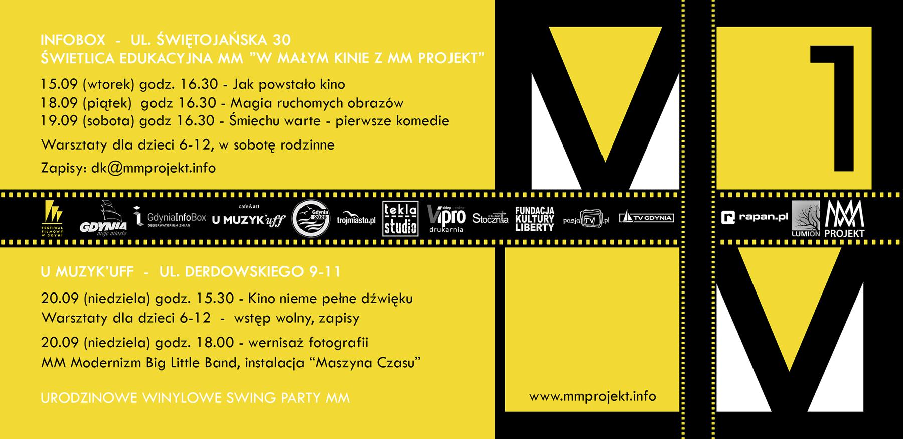 Identyfikacja wizualna dla MM Projekt