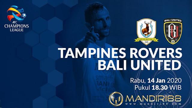 Prediksi Tampines Rovers Vs Bali United, Selasa 14 Januari 2020 Pukul 18.30 WIB
