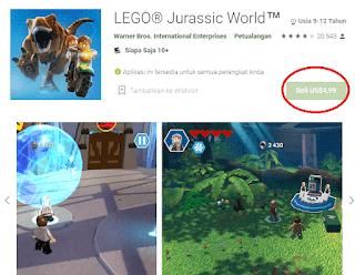 Game ini sebenarnya sudah tersedia di Playstore, namun masih berbayar dan harganya 5 dollar atau sekitar Rp 70 ribu.