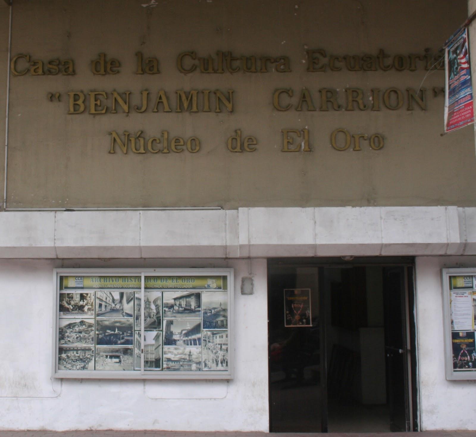 Sede del Núcleo de El Oro de la Casa de la Cultura Ecuatoriana