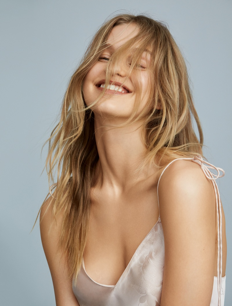 Lotta Maybelake stars in Victoria's Secret First Love fragrance campaign