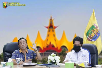 Galakkan Pemanfaatan TIK Di Bidang Pemerintahan, Pemprov Lampung Gelar Rakor Bersama Kabupaten/Kota
