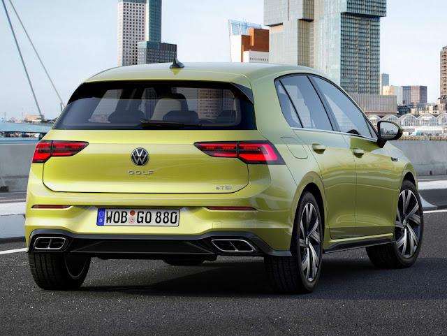 VW Golf 8 R-Line começa a ser vendido em toda Europa