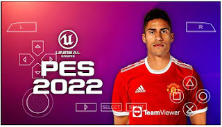 Download PES 2022 PPSSPP CV1 New Straight Grass Camera PS5 Best Graphics & Update Kits And Transfer Season 2021/22