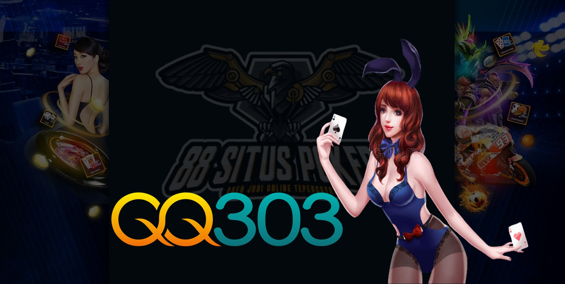 QQ303 Situs Slot Online Casino Terpercaya Via Pulsa