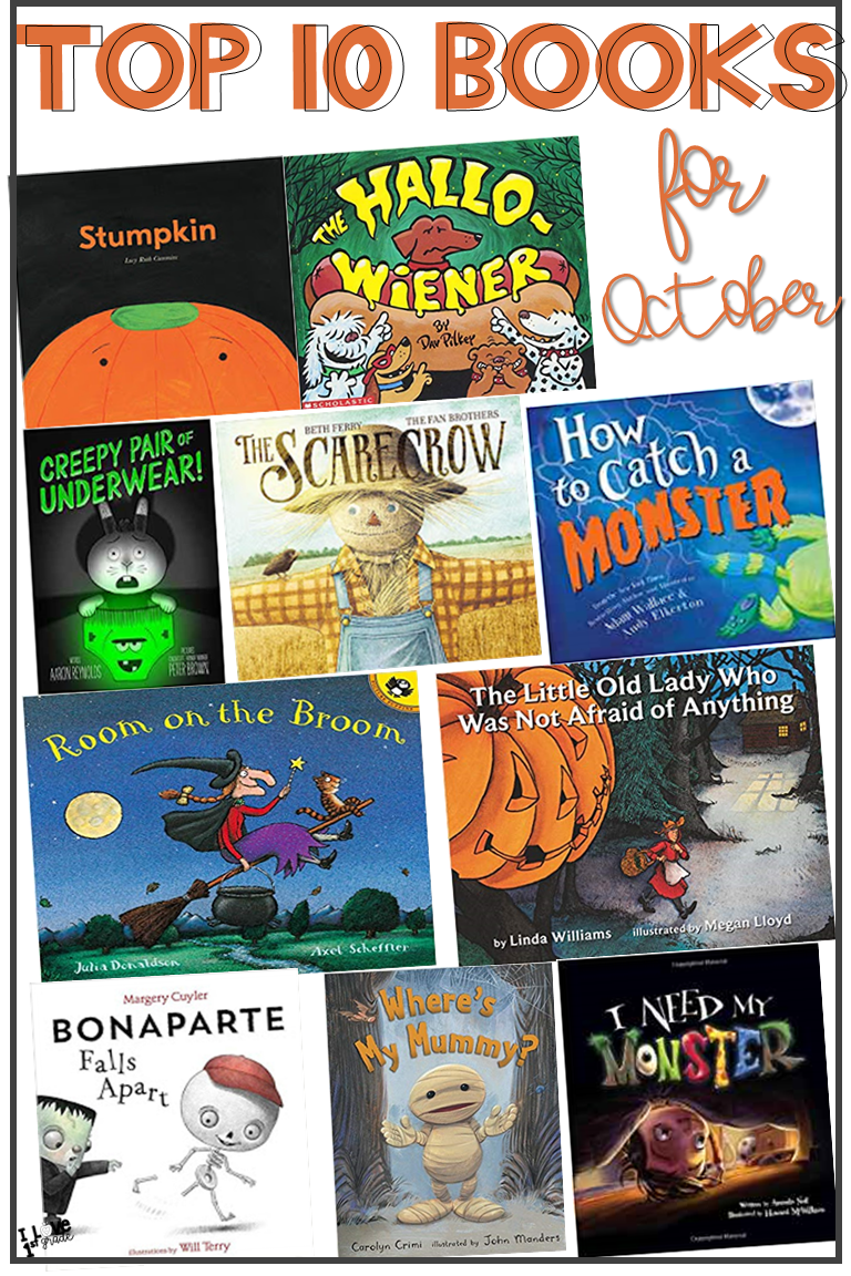 - Picture Books For October First Grade Picture Book Recommendations