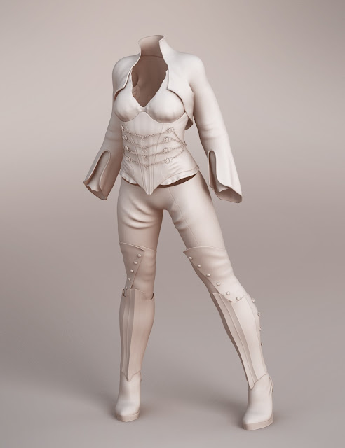 Vanessa Marquise Outfit for Genesis 3 Female