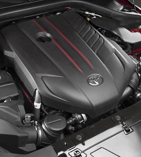 Mesin Mobil Toyota Supra