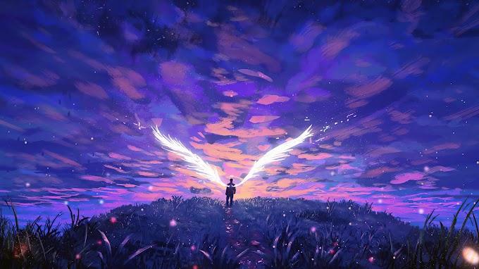 Tela de Fundo Anjo
