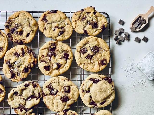 aprende ingles postre galletas pepitas chocolate cookie