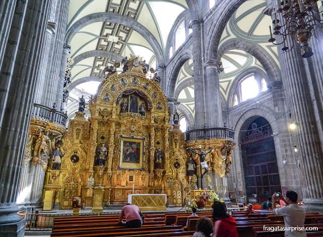 Altar-mor da Catedral da Cidade do México