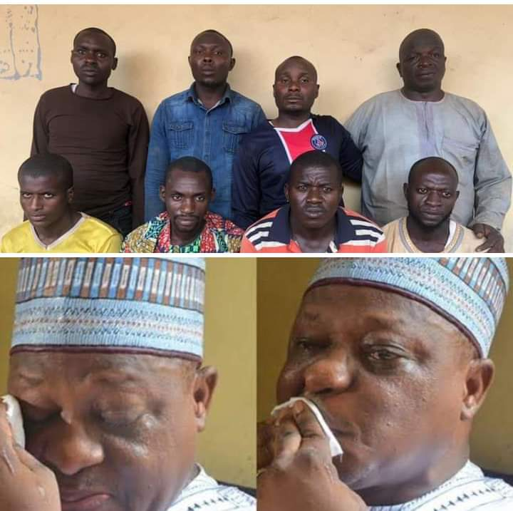 See the six men who abducted and killed Chief Joshua Dariye's Father #Arewapublisize