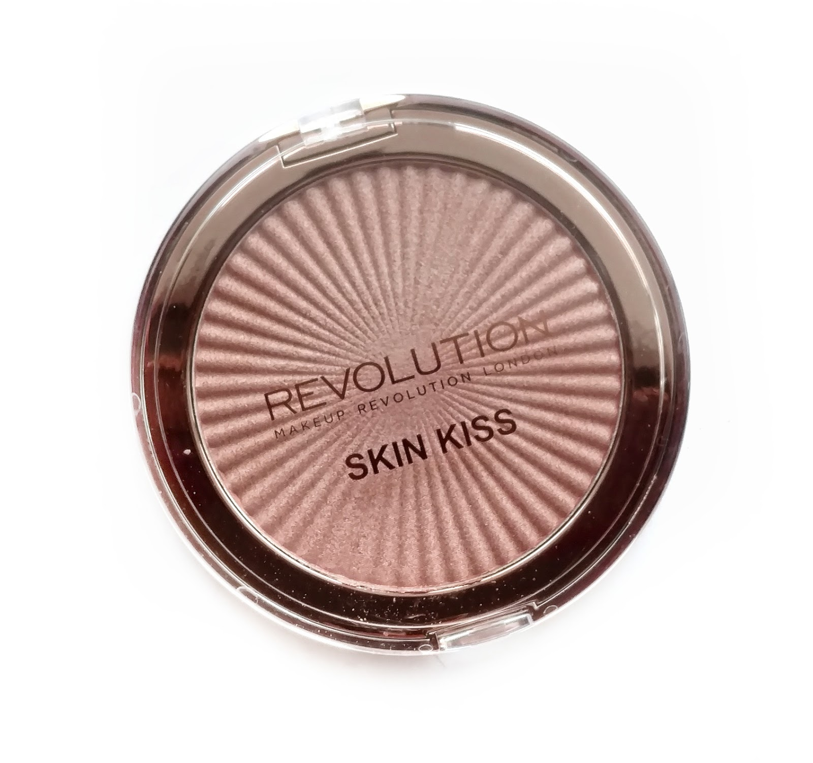 makeup revolution skin kiss highlighter peach kiss