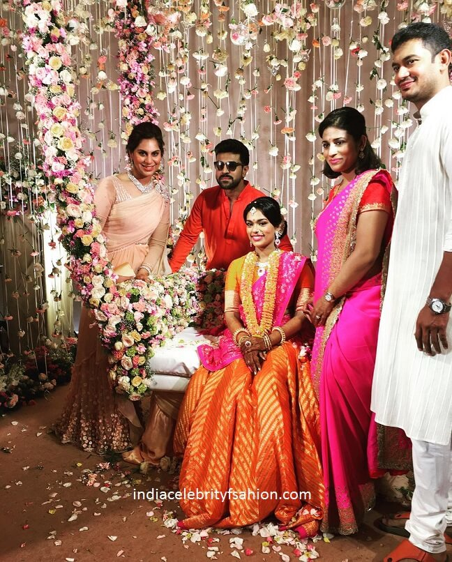 Chiranjeevi Daughter Sreeja sangeet Photos