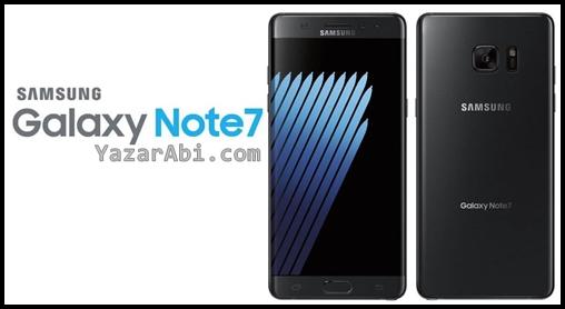 Galaxy Note 7 Üretimi Durduruldu !