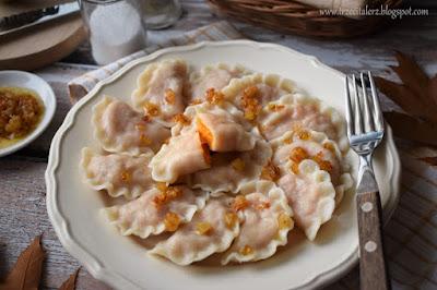Pierogi z marchewką - kuchnia podkarpacka
