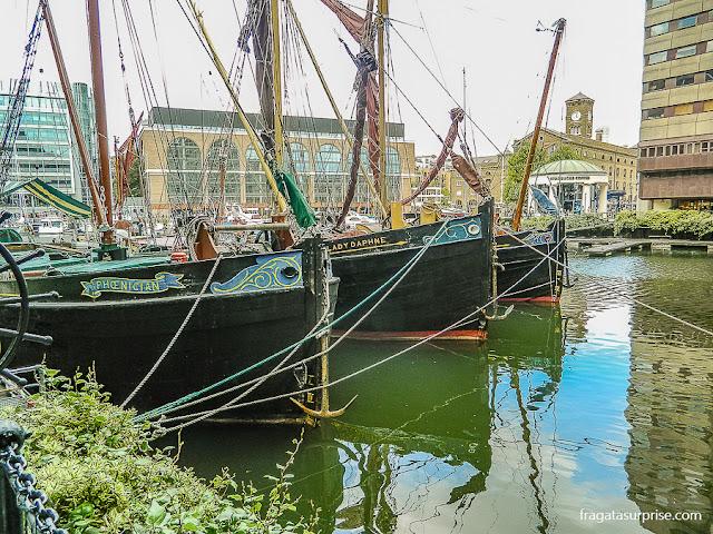St Katharine Docks, Londres