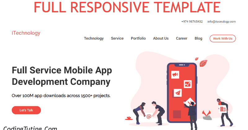 Best Html Responsive Website Design With Css3 Jquery Codingtuting