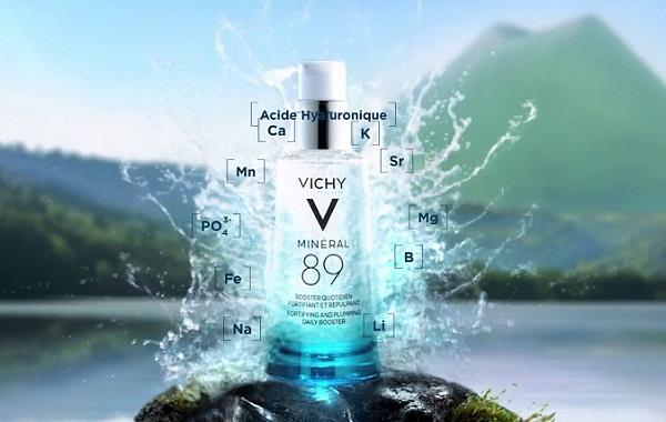 Dưỡng chất khoáng cô đặc giúp phục hồi và bảo vệ da Vichy Minéral 89 50ml