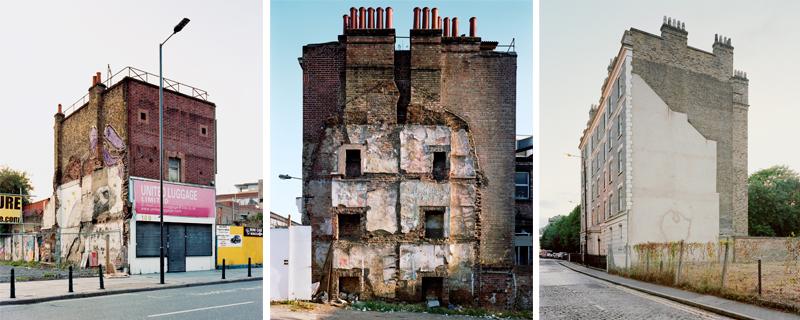 Homenaje fotográfico a edificios desaparecidos durante el Blitz