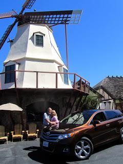 Wayne Pat Dunlap Solvang Toyota Venza California's Central Coast