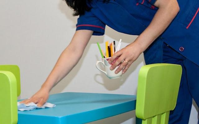 Ο Δήμος Ερμιονίδας αύξησε τις ώρες εργασίας των σχολικών καθαριστριών