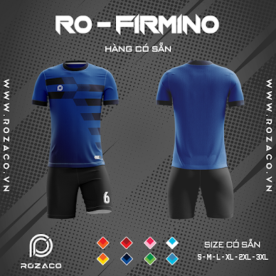 Áo Không Logo Rozaco RO-FIMINO Màu Xanh Bích