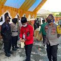 Polres Luwu Utara Terjunkan 251 Pasukan Pengamanan Pendaftaran Calon Bupati Dan Wakil Bupati Di KPU luwu Utara