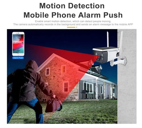 COOLOUS Human Motion Detection Security Camera