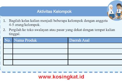 Kunci Jawaban IPS Kelas 7 Halaman 4 Aktivitas Kelompok