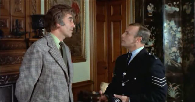 Christopher Lee - Edward Woodward in The Wicker Man