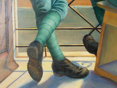 Luigi Mocellin - dipinto del 1932 - arte - annunci