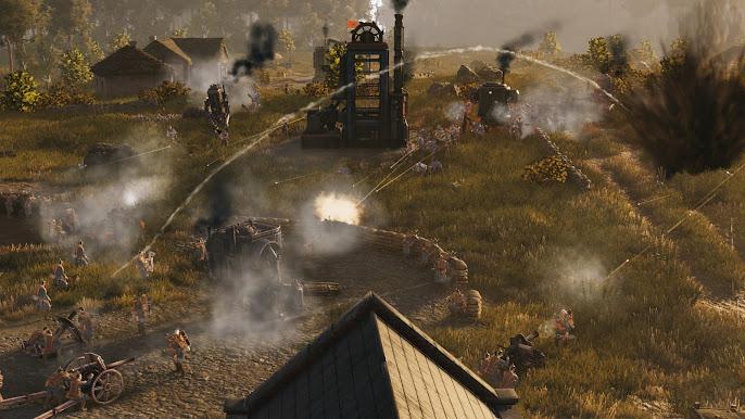 Iron Harvest other scene gameplay