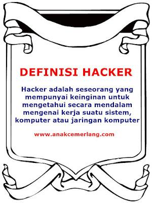 Definisi Dan Pengertian Hacker