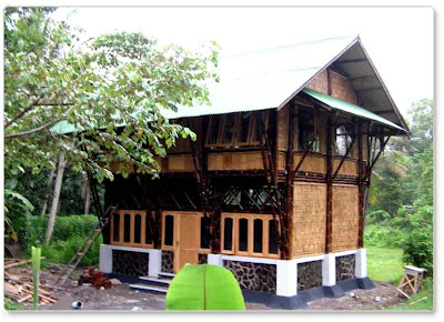 bamboo style house 01