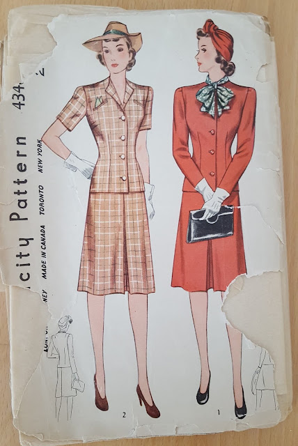 vintage sewing pattern magazine schnittmuster zeitung retro cut sewing pattern 1940s 40s