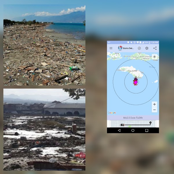 3 Fuertes sismos Sacuden Indonesia En Menos De 40 Minutos .