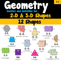 Geometry Centers Worksheets and Activities