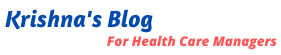 Krishna Gopal's Health Care Blog