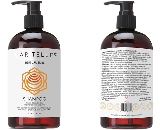 5. Laritelle Organic Shampoo