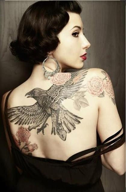 tatuajes para mujeres en la espalda fotos